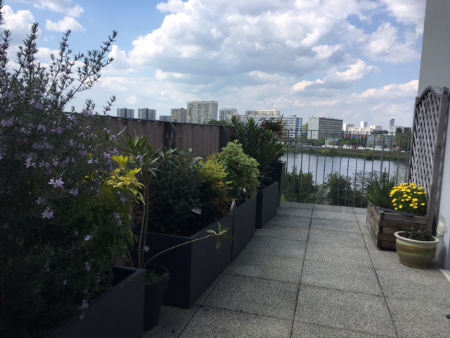Exclu Nantes Sud T3/4 terrasse vues panoramiques